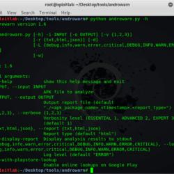 Androwarn Tool To Analyze Malicious Android Application xploitlab