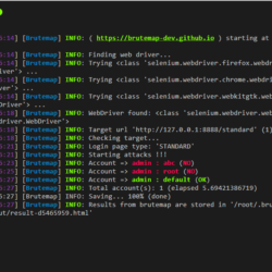 Brutemap Tool For Automatic Web Application Brute Force Attack xploitlab