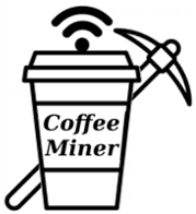 CoffeMiner Logo MITM WiFi To Inject Miner Script