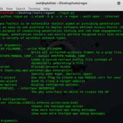 Rogue Tool To Perform Targeted Evil Twin Attack xploitlab