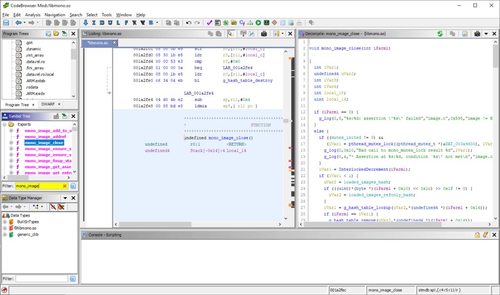 Ghidra Windows - NSA Sofware Reverse Engineering (SRE) Framework