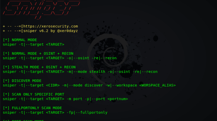 Sn1per - Most Complete Pentest Framework and Scanner