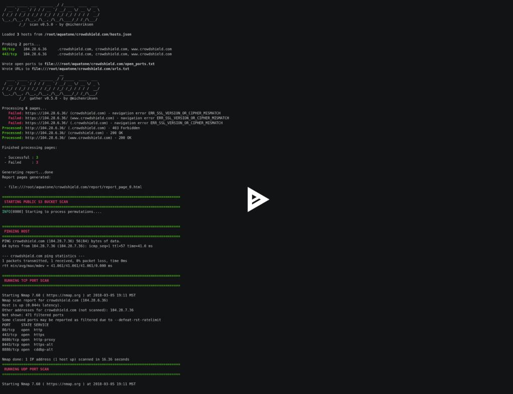 Sn1per - Most Complete Pentest Framework and Scanner xploitlab