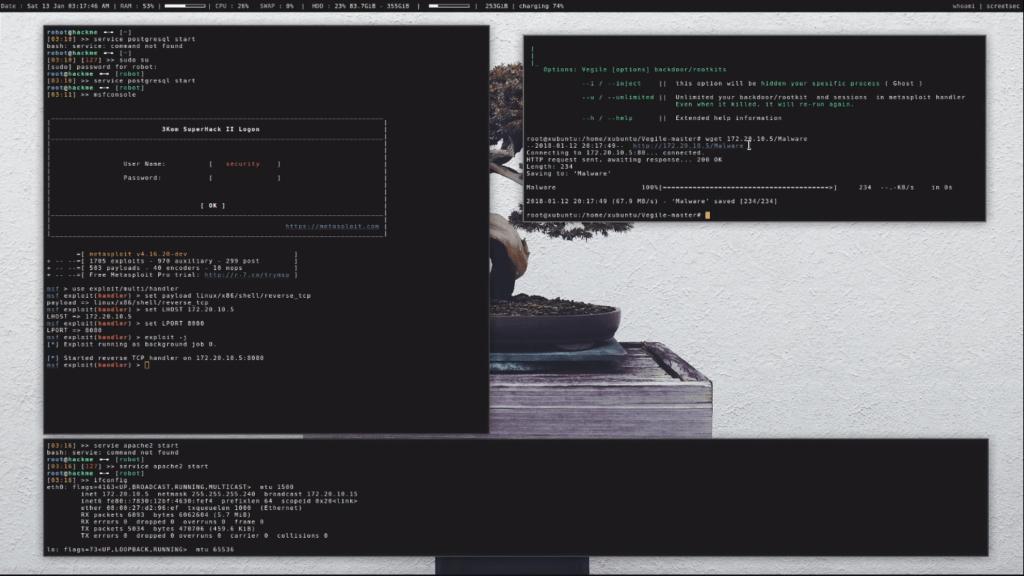 Vegile Post Exploitation In Linux - Hidden backdoor or rootkits in process