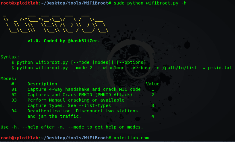 WiFiBroot - WiFi Pentest Tool To Crack WPA-WPA2 (Handshake, PMKID, Cracking, EAPOL, Deauthentication)