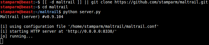 Maltrail Server - Malicious Traffic Detection System xploitlab