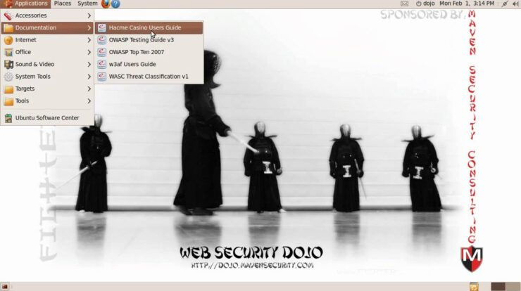 Web Security Dojo - Open Source Environment To Learn And Practice Web Application Security Testing