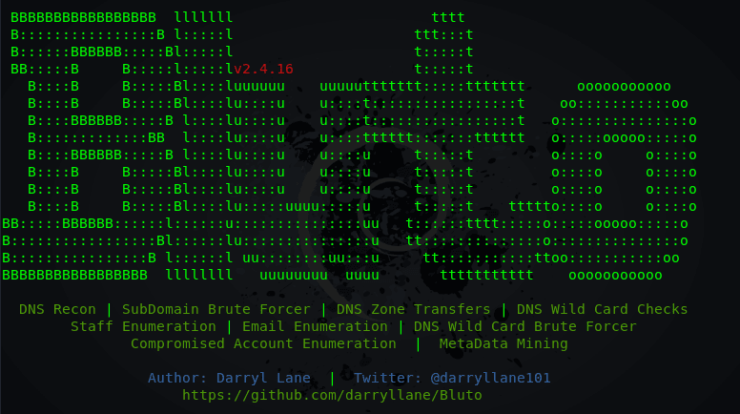 Bluto - Analysis and Information Gathering Tool