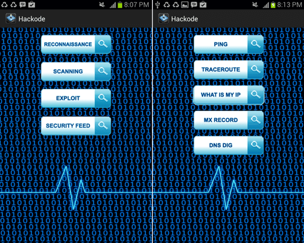 Hackode - Android Hacking App xploitlab