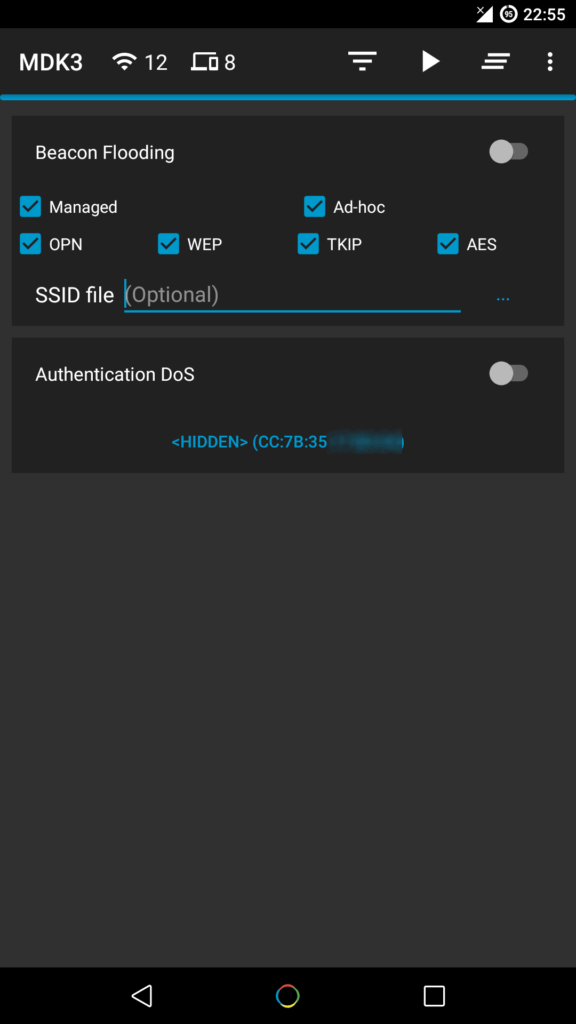 How to hack WiFi with android