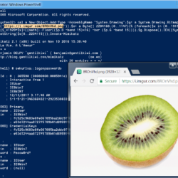 Invoke-PSImage - Embed a PowerShell Script in The Pixels of a PNG file