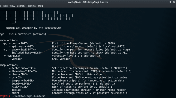SQLi-Hunter - Simple HTTP Proxy Server and a SQLMAP API wrapper that makes digging SQLi easy