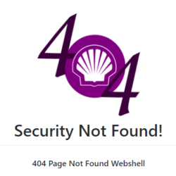 SecurityNotFound - 404 Page Not Found Webshell