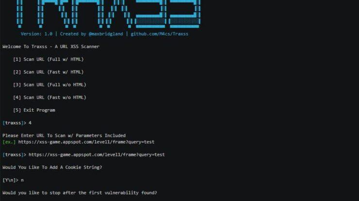 Traxx - Exploit XSS Vulnerability xploitlab