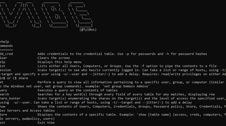 Vibe - Framework For Stealthy Domain Reconnaissance
