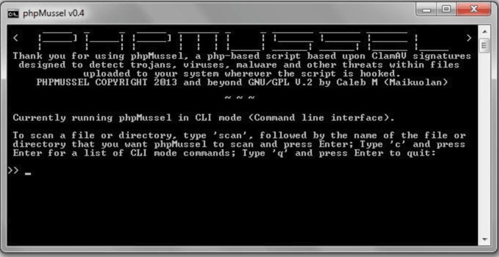 phpMussel CLI - PHP-based anti-virus anti-trojan anti-malware solution
