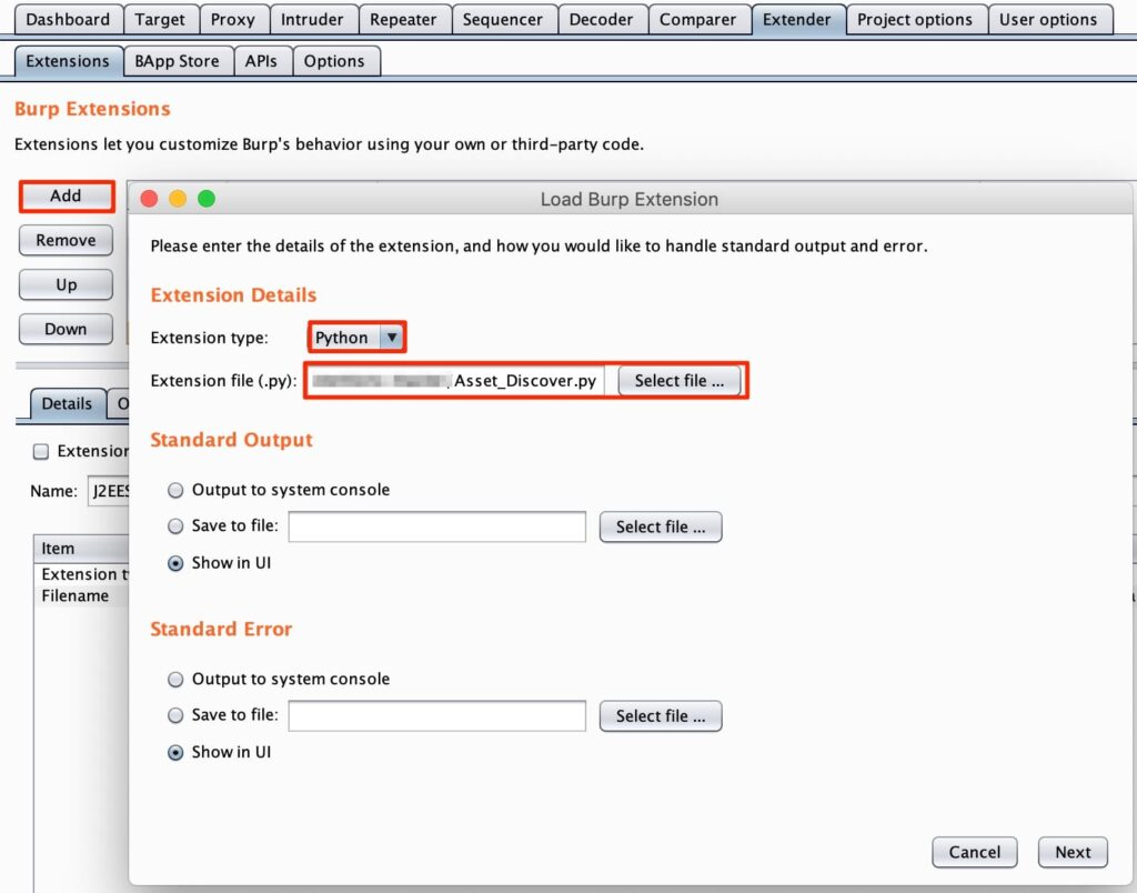 BurpSuite Asset Discover - Burp Suite Extension to Discover Assets From HTTP Response