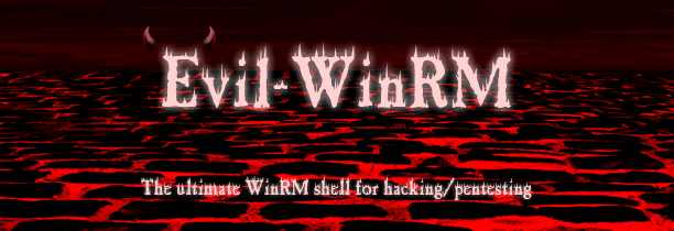 Evil-WinRM Logo - Windows Remote Management Shell for Hacking Pentesting