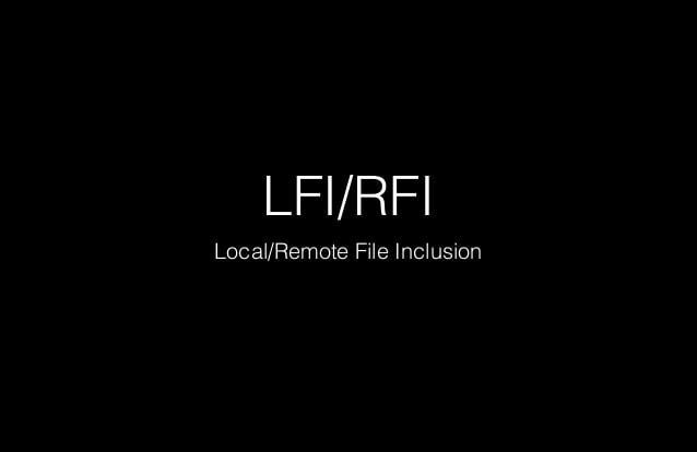 local and remote file inclution payload list