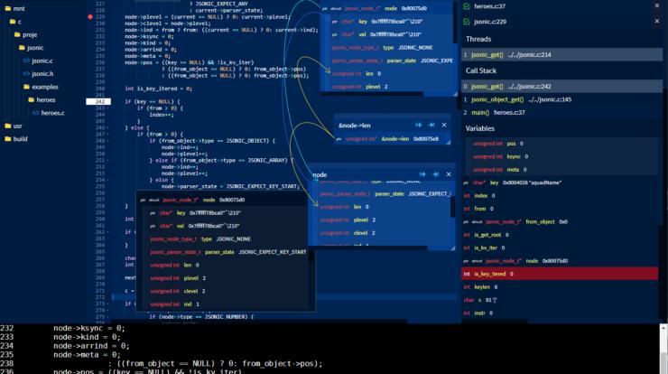 GDBFrontend - Easy, Flexible and Extensionable GUI Debugger xploitlab