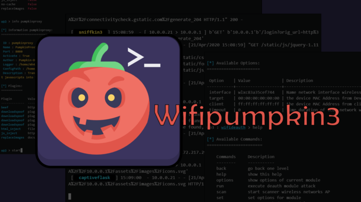 Wifipumpkin3 - How to hack wifi password