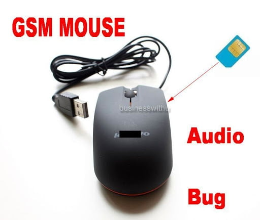 pc mouse for hacking - record and spying voice with mouse