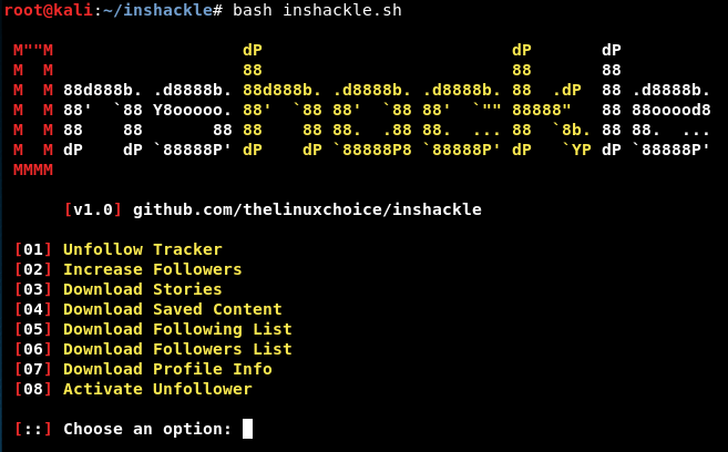 Inshackle - Instagram Hacks Track unfollowers, Increase your followers, Download Stories, etc