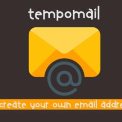 tempomail, tempmail logo - Generate a Custom Email Address in 1 Second and Receive Emails, Tempmail create custom email, how to create email address