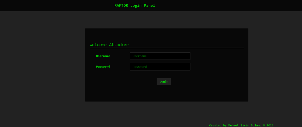 RafelRat Login Panel - Tool to Remote Android With WebPanel For Controlling Victims