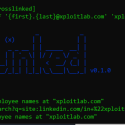 CrossLinked - Tool to Extract Valid Employee Names From LinkedIn Through Search Engine Scraping
