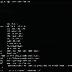 DNSrr - Tool to Enumerate Juicy Information from DNS and Bypass Cloudflare protection xploitlab