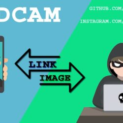 MadCam is a Tool that can grab cam shots of targeted phone's of front camera or PC's webcam by just sending a link xploitlab