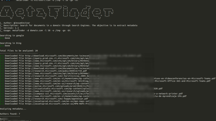 MetaFinder - Search For Documents in Domain Through Search Engines xploitlab-min