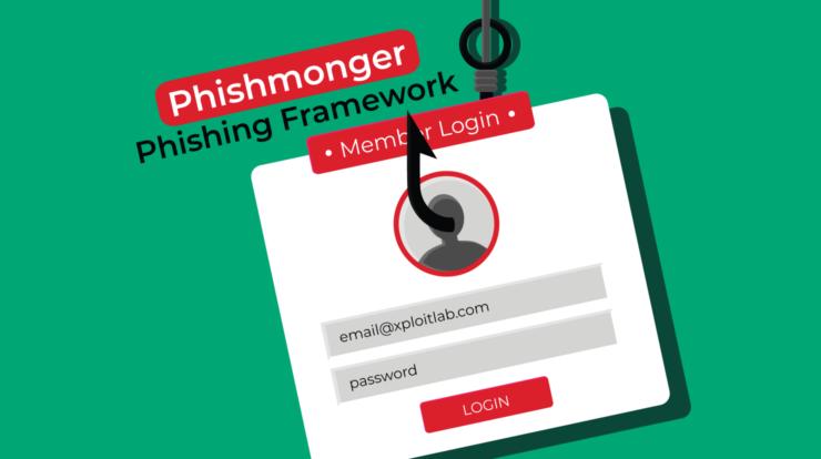 Phishmonger - Phishing Framework for Pentesters xploitlab
