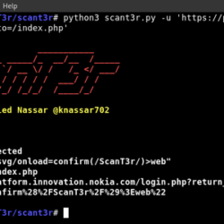 Scanter - Web Application Security Tool